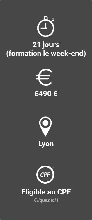 Formation Coach Professionnel de la Personne Lyon week-end Idéallis